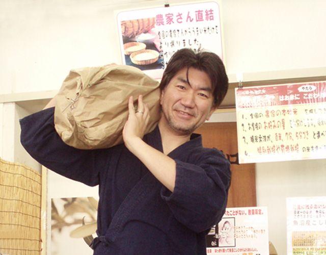 おいしいお米をご用意しました