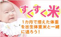 スクスク米出産内祝い